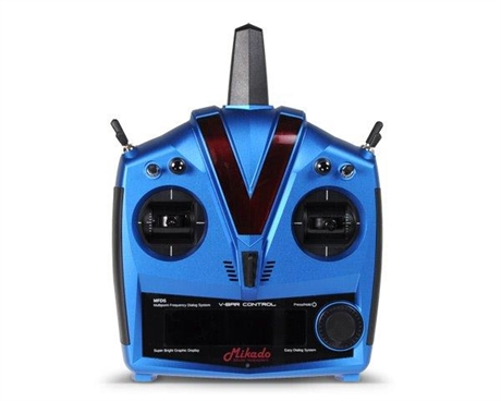 Mikado VBar Control Alu-case, blue VBasic Receiver